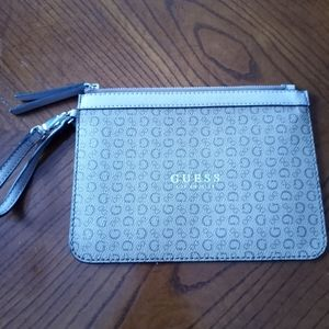 Guess Brown Hand Clutch
